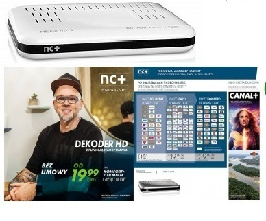NC+ Komfort+ Filmbox 6 Monate zum Start -ADB2851ST